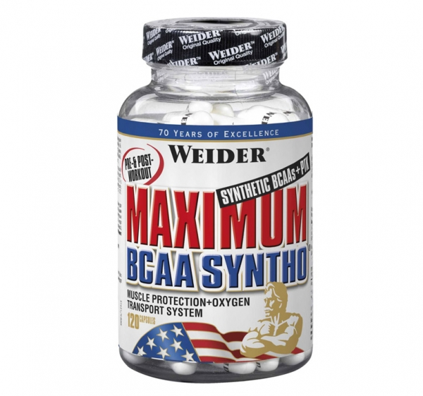 Weider Maximum Bcaa Syntho 120 caps-big