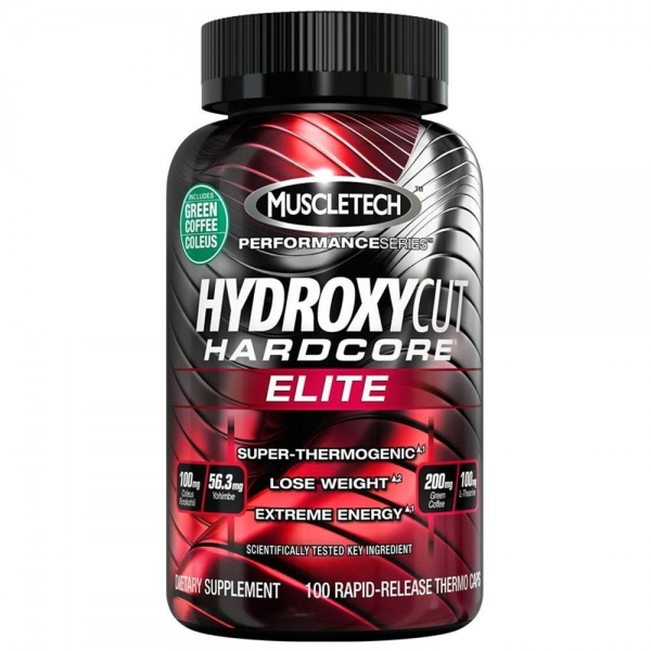 Muscletech Hydroxycut Elite 100 cps US
