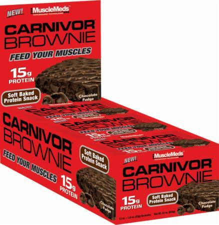 Musclemeds Carnivor Brownie 12 bc-big