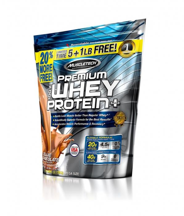 Muscletech Whey Protein Plus 2,7 kg USA