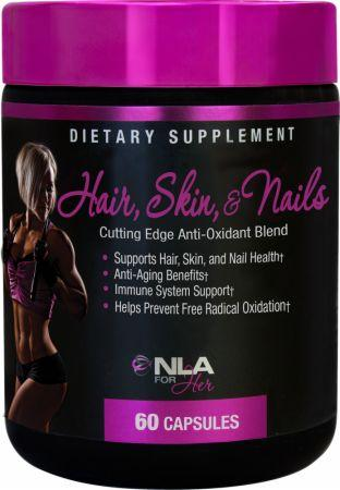 NLA for Her Hair, Skin, & Nails 60 caps-big