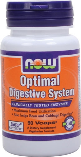 NOW Optimal Digestive Enzymes 90 caps