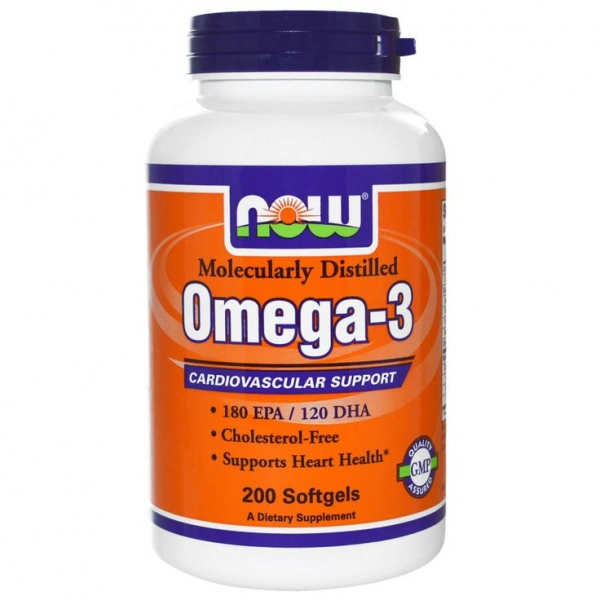 Now Omega 3 200softgels