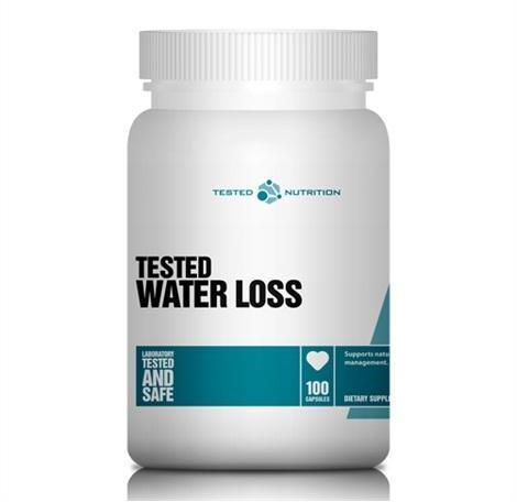 Tested Nutrition Water Loss 100 caps