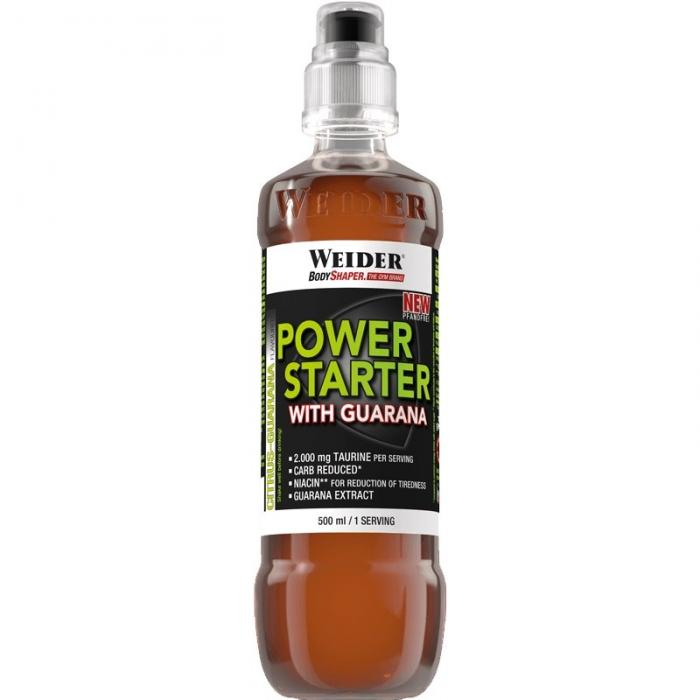 Weider Power Starter Guarana 500ml bc 12-big